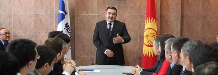 Албек Ибраимов в Манасе