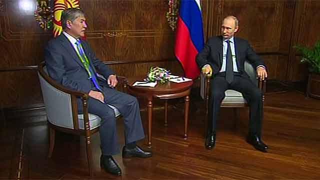 Атамбаев и Путин 02032016