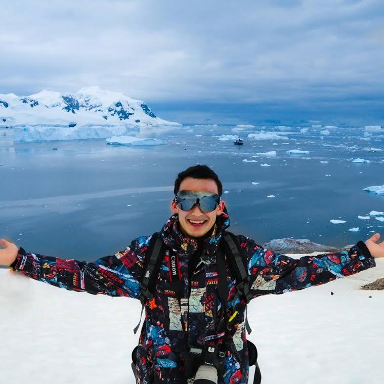 Талгату Субаналиев Антарктида2
